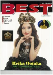 ビューティーコンテスト専門雑誌『BEST』にグラウィスと大鷹レイカが特集されました