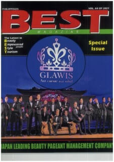ビューティーコンテスト専門雑誌『BEST』にグラウィス主催のMrの世界大会が特集されました